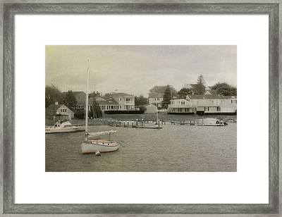 View From The Ferry Framed Print by JAMART Photography