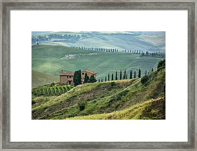 View From The Hill Framed Print by Joachim G Pinkawa