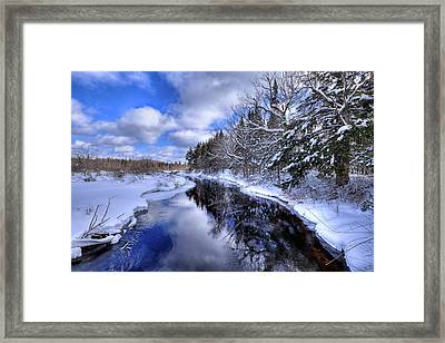 View From The North Street Bridge Framed Print by David Patterson