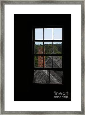 View From The Olson House Framed Print