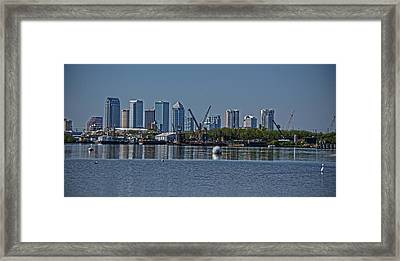 View From The Port Framed Print by Chauncy Holmes