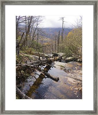Framed Print featuring the photograph View From The Top by Alan Raasch