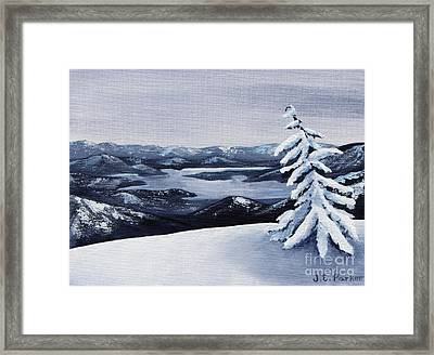 View From The Top Framed Print