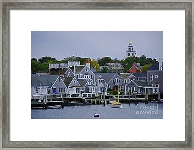 View From The Water Framed Print by Lori Tambakis
