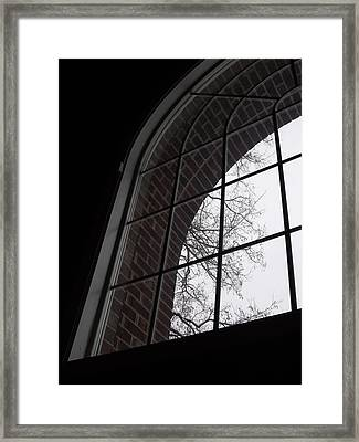 View From The Window Framed Print by Anna Villarreal Garbis