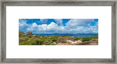 View From Top Of The Baths On Virgin Framed Print
