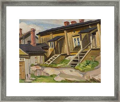 View From Turku Framed Print by MotionAge Designs