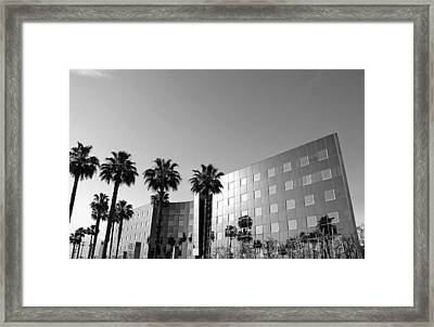 View From Valley Parking Lot Framed Print by Denice Breaux