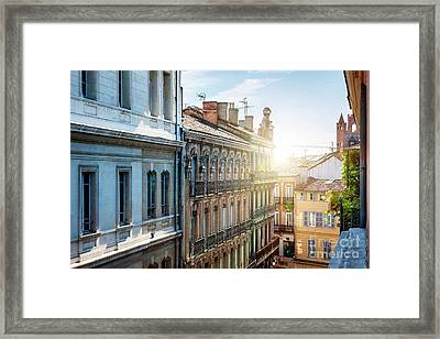 View In Toulouse Framed Print by Elena Elisseeva