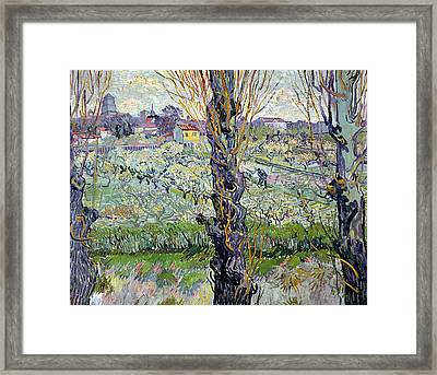 View Of Arles Framed Print