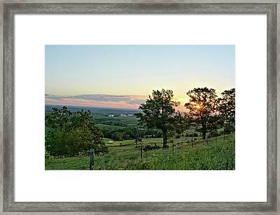 View Of Balltown 2 Framed Print