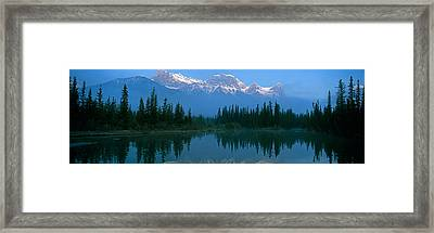 View Of Beaver Pond, Mount Lawrence Framed Print