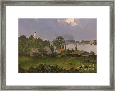 View Of Blackwell Framed Print by MotionAge Designs