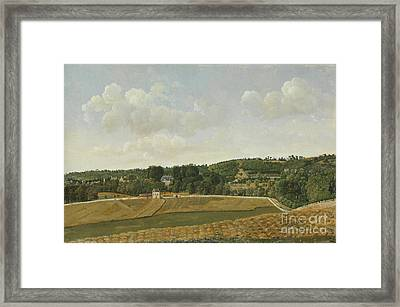 View Of Chatenay Framed Print