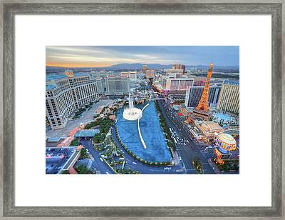 View Of City Framed Print by Eric Lo