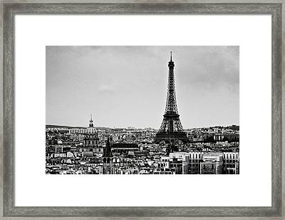 View Of City Framed Print by Sbk_20d Pictures