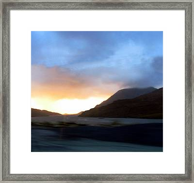 view of Connamara Framed Print by Amy Williams