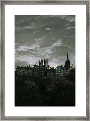 view of Edinburgh Framed Print