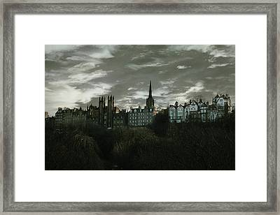view of Edinburgh II Framed Print