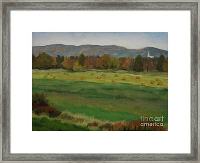 View Of Gatineau Hills Framed Print by Catherine Copp