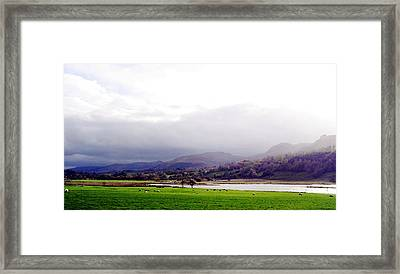 View Of Glencar Framed Print by Amy Williams