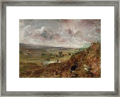 View Of Hampstead Heath Framed Print