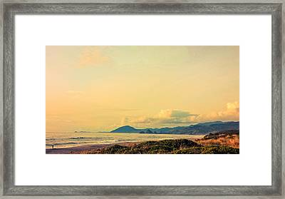 View Of Humbug And Sisters Framed Print