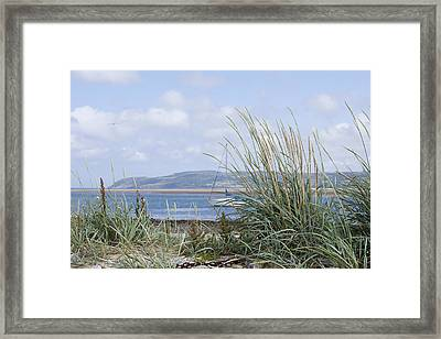 View Of North Wales Framed Print by Gillian Dernie