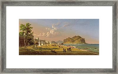 View Of Palermo Framed Print