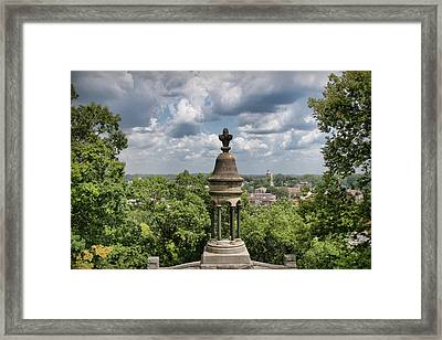 View Of Rome Framed Print