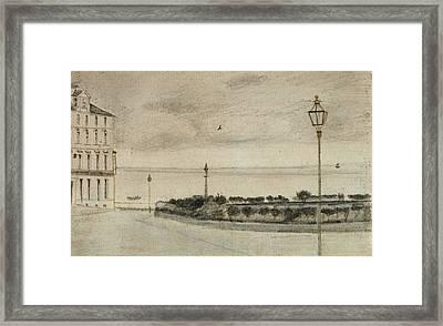 View Of Royal Road, Ramsgate, 1876 01 Framed Print