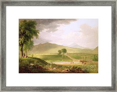 View Of Rutland - Vermont Framed Print by Asher Brown Durand