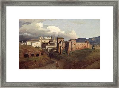 View Of Saint John Lateran Rome Framed Print