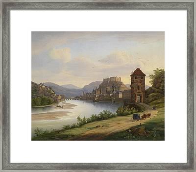 view of Salzburg Framed Print