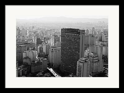 Sao Paulo State Framed Prints