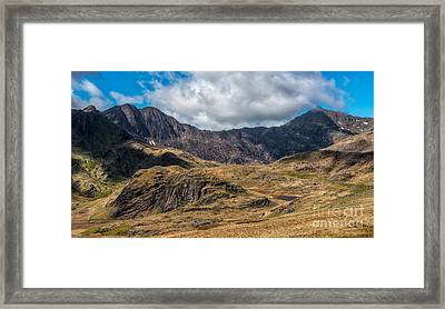 View Of Snowdon Framed Print