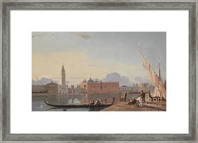 View Of St Mark Square Framed Print