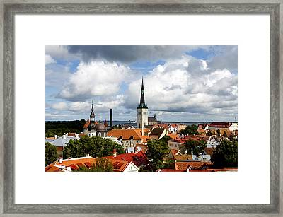 View Of St Olav's Church Framed Print