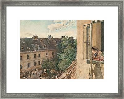 View Of The Alservorstadt Framed Print