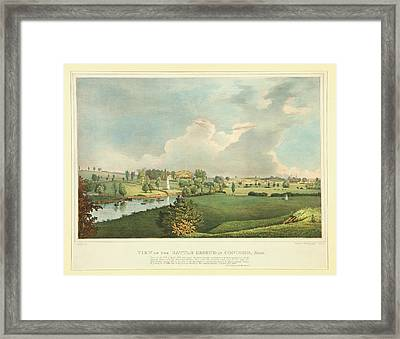 View Of The Battle Ground At Concord Mass Framed Print