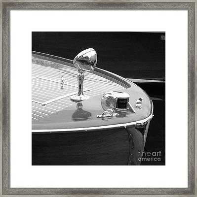 View Of The Bow Framed Print