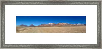 View Of The Eduardo Avaroa Andean Fauna Framed Print by Panoramic Images