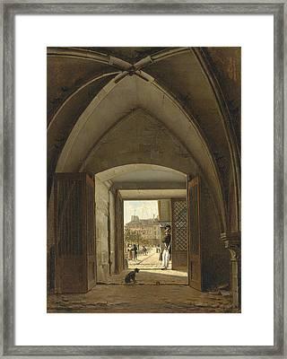 View Of The Maison Bellechasse Rue Saint Dominique. Paris Framed Print