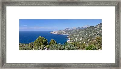 View Of The North Coast, Serra De Framed Print