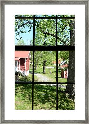View Of The Past Framed Print by Susan Leggett