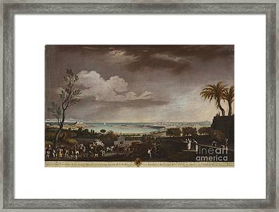 View Of The Port Of Antibes Framed Print by MotionAge Designs