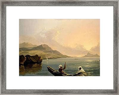 View Of The Province Of Oparree  Framed Print