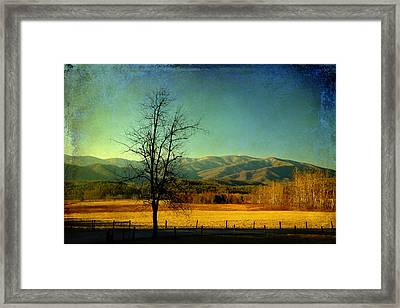 View Of The Smokies Framed Print