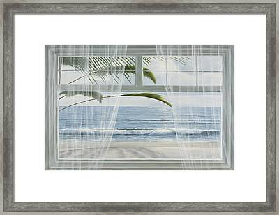 View Of The Tropics Framed Print