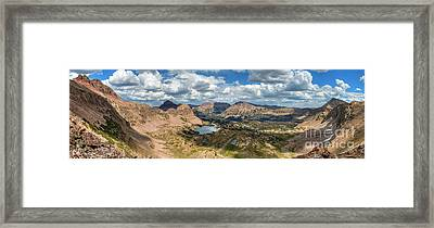 Framed Print featuring the photograph View Of The Uintas by Spencer Baugh